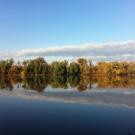 Autumn Reflections on the Potomac
